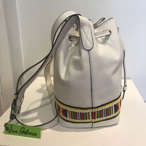 NWT Sam Edelman Carly Bucket Shoulder Bag